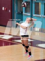 This MaxPreps.com professional photo features Santa Cruz high school Marina Crawford playing  Volleyball. This photo was shot by Ted Walker and published on Walker.