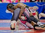 This MaxPreps.com professional photo is from the gallery GHSA Wrestling Championships which features Allatoona high school athletes playing  Wrestling. This photo was shot by Ben Ennis and published on Ennis.