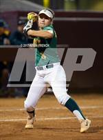 This MaxPreps.com professional photo features Canyon del Oro high school Jenna Martinez playing  Softball. This photo was shot by Kevin French and published on French.