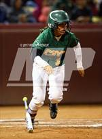 This MaxPreps.com professional photo features Canyon del Oro high school Arylene Campos playing  Softball. This photo was shot by Kevin French and published on French.