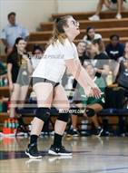 This MaxPreps.com professional photo is from the gallery La Reina @ Notre Dame (SO) which features La Reina high school athletes playing  Volleyball.
