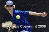 This MaxPreps.com professional photo is from the gallery Chadwick vs Lakewood (D3 Championship) which features Lakewood high school athletes playing  Tennis. This photo was shot by Louis Lopez and published on Lopez.