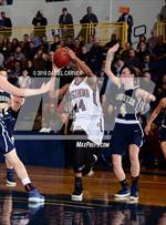 This MaxPreps.com professional photo is from the gallery Our Lady of Lourdes vs. Ossining (Section 1 Class AA Final) which features Ossining high school athletes playing Girls Basketball. This photo was shot by Daniel Carver and published on Carver.