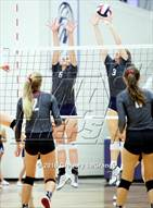 This MaxPreps.com professional photo is from the gallery Liberty @ Flower Mound which features Flower Mound high school athletes playing  Volleyball.