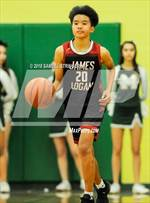 This MaxPreps.com professional photo is from the gallery James Logan @ Moreau Catholic which features James Logan high school athletes playing  Basketball. This photo was shot by Samuel Stringer and published on Stringer.