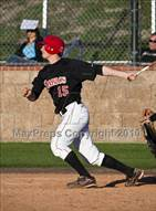 This MaxPreps.com professional photo is from the gallery Santiago @ Mission Viejo which features Mission Viejo high school athletes playing  Baseball.