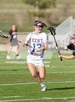 This MaxPreps.com professional photo features Kent Denver high school Caroline Shay playing Girls Lacrosse. This photo was shot by Jeffery Tucker and published on Tucker.