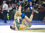 This MaxPreps.com professional photo is from the gallery CIF State Boys Wrestling Championships (Semfinals) which features Leigh high school athletes playing  Wrestling. This photo was shot by David Dennis and published on Dennis.