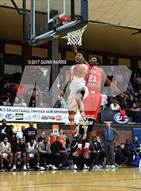 This MaxPreps.com professional photo is from the gallery Evanston vs Homewood-Flossmoor (War on the Shore) which features Evanston high school athletes playing  Basketball.
