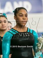 This MaxPreps.com professional photo is from the gallery NYSPHSAA Gymnastics Championships (Opening Ceremonies) which features Connetquot high school athletes playing  Gymnastics. This photo was shot by Bertram Smith and published on Smith.