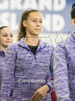 This MaxPreps.com professional photo is from the gallery NYSPHSAA Gymnastics Championships (Opening Ceremonies) which features Beekmantown high school athletes playing  Gymnastics. This photo was shot by Bertram Smith and published on Smith.
