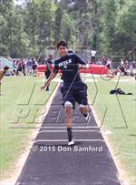 This MaxPreps.com professional photo is from the gallery Caney Creek District Meet which features Caney Creek high school athletes playing  Track & Field. This photo was shot by Don Samford and published on Samford.
