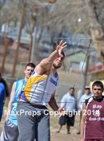This MaxPreps.com professional photo is from the gallery West Las Vegas Invitational which features Santa Fe Prep high school athletes playing  Track & Field. This photo was shot by John Denne and published on Denne.