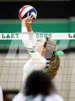 This MaxPreps.com professional photo features Carroll high school Mckenzie Nichols playing  Volleyball. This photo was shot by Gregory LaGrange and published on LaGrange.
