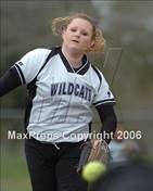 This MaxPreps.com professional photo is from the gallery Vintage vs. Franklin (Pre-Season Tournament of Champions) which features Franklin high school athletes playing  Softball.