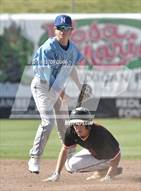 This MaxPreps.com professional photo is from the gallery Norco vs Centennial (County Clash) which features Norco high school athletes playing  Baseball.