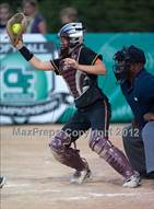 This MaxPreps.com professional photo is from the gallery Carlsbad vs Torrey Pines (CIF SDS D1 Final) which features Torrey Pines high school athletes playing  Softball.