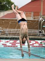 This MaxPreps.com professional photo is from the gallery CIF SJS Boys Diving Finals which features Whitney high school athletes playing  Swimming. This photo was shot by Gerardo Coronado and published on Coronado.