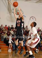 This MaxPreps.com professional photo features Marissa/Coulterville high school Cody Mahan playing  Basketball. This photo was shot by Christopher Kays and published on Kays.