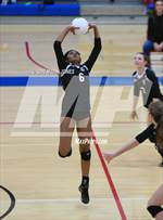 This MaxPreps.com professional photo features Chandler Prep high school Isabelle Miranda playing  Volleyball. This photo was shot by Mark Jones and published on Jones.