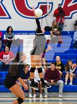 This MaxPreps.com professional photo features Chandler Prep high school Marin Scoggin playing  Volleyball. This photo was shot by Mark Jones and published on Jones.
