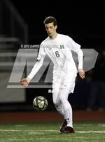 This MaxPreps.com professional photo features Miramonte high school Ben Andrews playing  Soccer. This photo was shot by Darren Yamashita and published on Yamashita.