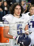 This MaxPreps.com professional photo is from the gallery Northwest Christian vs. Payson (AIA D3 Playoff) which features Payson high school athletes playing  Football.