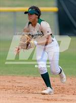 This MaxPreps.com professional photo features Canyon Lake high school Marley Carrizales playing  Softball. This photo was shot by Lester Rosebrock and published on Rosebrock.