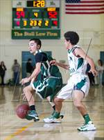 This MaxPreps.com professional photo is from the gallery Santa Barbara which features Santa Barbara high school athletes playing  Basketball. This photo was shot by Mike Bouffard and published on Bouffard.