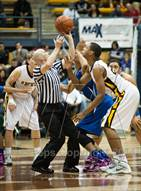 This MaxPreps.com professional photo is from the gallery Bishop O'Dowd vs. Capital Christian (MaxPreps MLK Classic) which features Capital Christian high school athletes playing  Basketball.