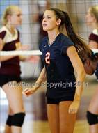 This MaxPreps.com professional photo is from the gallery Dublin @ Las Lomas which features Dublin high school athletes playing  Volleyball.