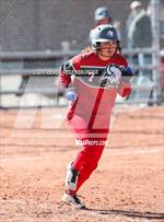 This MaxPreps.com professional photo features Smoky Hill high school Taylar Espinosa playing  Softball. This photo was shot by Derek Regensburger and published on Regensburger.