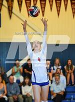 This MaxPreps.com professional photo features Tamalpais high school Caitlin Smith playing  Volleyball. This photo was shot by Greg Jungferman and published on Jungferman.