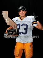 This MaxPreps.com professional photo is from the gallery Escalon (CIF State D3 Trophy Photos) which features Escalon high school athletes playing  Football.