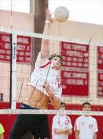 This MaxPreps.com professional photo is from the gallery Fairfield Warde/Ludlowe @ Greenwich which features Warde/Ludlowe high school athletes playing Boys Volleyball. This photo was shot by Jane Haslam and published on Haslam.