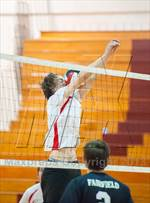 This MaxPreps.com professional photo features Warde/Ludlowe high school  playing Boys Volleyball. This photo was shot by Jane Haslam and published on Haslam.
