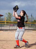 This MaxPreps.com professional photo is from the gallery Indiana School for the Deaf @ Southwestern which features Indiana School for the Deaf high school athletes playing  Softball. This photo was shot by Warren Robison and published on Robison.