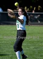 This MaxPreps.com professional photo is from the gallery Salesian @ St. Patrick/St. Vincent (CIF NCS D4 Final) which features St. Patrick-St. Vincent high school athletes playing  Softball.