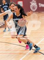 This MaxPreps.com professional photo features Valley Christian high school Katie Mason playing Girls Basketball. This photo was shot by Ted Walker and published on Walker.