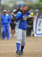 This MaxPreps.com professional photo is from the gallery Brawley vs. Santana (CIF SDS D3 Final) which features Brawley high school athletes playing  Softball.