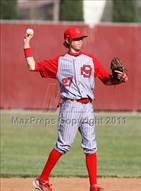 This MaxPreps.com professional photo is from the gallery Santa Maria @ Beyer (Righetti Spring Classic) which features Santa Maria high school athletes playing  Baseball.