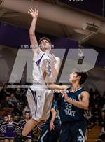 This MaxPreps.com professional photo features Shasta high school Caden Cushman playing  Basketball. This photo was shot by Michael Turner and published on Turner.