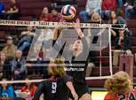 This MaxPreps.com professional photo features Lake Travis high school Skylar Besch playing  Volleyball. This photo was shot by Kenneth Toso and published on Toso.