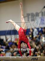 This MaxPreps.com professional photo is from the gallery CHSAA Gymnastics Championships (Day 2, 5A and 4A) which features Buena Vista high school athletes playing  Gymnastics. This photo was shot by Ray Chen and published on Chen.