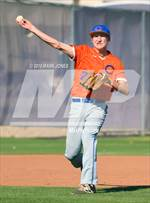 This MaxPreps.com professional photo features Chino Valley high school Kaleb Burns playing  Baseball. This photo was shot by Mark Jones and published on Jones.