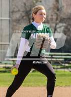 This MaxPreps.com professional photo is from the gallery Nardin Academy @ Sacred Heart Academy which features Nardin Academy high school athletes playing  Softball.