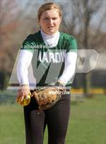 This MaxPreps.com professional photo features Nardin Academy high school Jessica Dipasquale playing  Softball. This photo was shot by Andrew Miller and published on Miller.