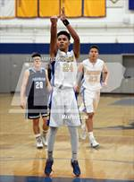 This MaxPreps.com professional photo features Prospect high school Moustafa Ghanem playing  Basketball. This photo was shot by Darryl De Fiore and published on De Fiore.