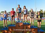 This MaxPreps.com professional photo is from the gallery CIF State Track and Field Championships (Girls Podium Awards) which features Claremont high school athletes playing Girls Track & Field. This photo was shot by Doug Stringer and published on Stringer.