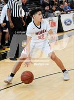 This MaxPreps.com professional photo features Pacifica Christian/Orange County high school Timmy Bahadoor playing  Basketball. This photo was shot by Daryl Chan and published on Chan.